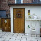 物置小屋とキッチン